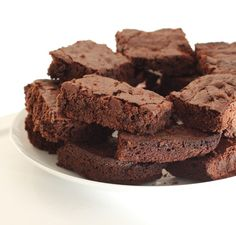 Double Chocolate Vegan Brownies