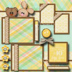 Two 12x12 premade scrapbook pages. CHERRY PREMADE. -Adorable 3D Art has been printed, hand cut, and made 3D with foam squares. - Smoke and Pet free home! to find more of my creations! A BOWL FULL OF CHERRIES.   eBay!