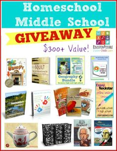 GIVEAWAY - What you Need to Homeschool Middle School from Education Possible