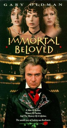 Directed by Bernard Rose.  With Gary Oldman, Jeroen Krabbé, Isabella Rossellini, Johanna ter Steege. The life and death of the legendary Ludwig van Beethoven. Besides all the work he is known for, the composer once wrote a famous love letter to a nameless beloved, and the movie tries to find out who this beloved was--not easy, as Beethoven has had many women in his life.