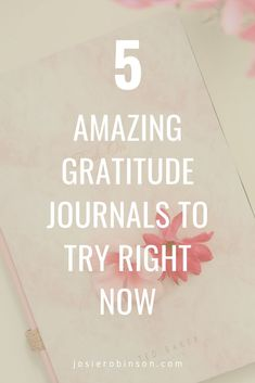 Gratitude changes everything. Here are five of my all time favorite gratitude journals that will add tons of joy and positivity to your life. 💕 Gratitude Journals, Gratitude Jar, Practice Gratitude, Gratitude Changes Everything, Start Where You Are, Spirit Science, Happiness Project, Journal Covers, Encouragement Quotes
