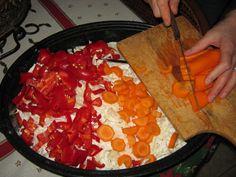 Τουρσί Πολύχρωμο – ηχωμαγειρέματα Pepperoni, Pizza, Food, Essen, Meals, Yemek, Eten