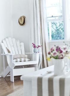 coastal style chair that might work in the mudroom we are going for a coastal cottagey look