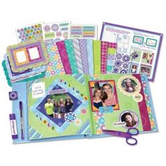 Create a scrapbook that's as unique as you are with the Spirograph Scrapbook Kit;All the supplies in this amazing kit feature the iconic spiro-art designs and patterns familiar to Spirograph fans; Original Spirograph, Fun Crafts, Arts And Crafts, Art Sets For Kids, Art And Craft Materials, Kids Patterns, Scrapbook Kit, Scrapbooking, Toys