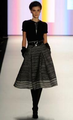 My favorite outfit at the Carolina Herrera Fashion Show (2012 NYC Fashion Week)