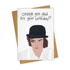 Clockwork Orange Card