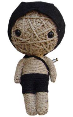 Yarn Ball Head Doll