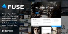 Fuse - Portfolio and Small Agency PSD Template