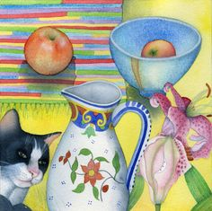 Kate Green | Still Life with Cat