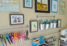 Craft Room Organization - Room Reveal Part #2 - A Prudent Life