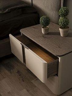 Bedroom False Ceiling Design, Bedroom Bed Design, Bedroom Furniture Design, Home Room Design, Home Furniture, Side Tables Bedroom, Bedside Tables, Bedside Table Design, Modern Side Table