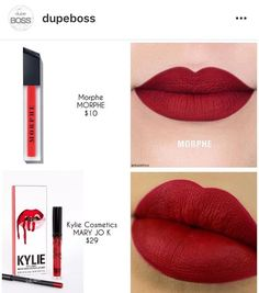makeup looks christmas Lipstick Dupes, Lipstick Shades, Makeup Dupes, Lipstick Colors, Skin Makeup, Lip Colors, Makeup Cosmetics, Gloss Lipstick, Makeup Products