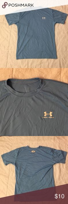 Under Armour Men's Small Under Armour Short Sleeve. Men's Small. In Good Condition. Shirts Tees - Short Sleeve