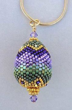 Beaded bead (seed beads)  #beadwork   #jewelry #crafts