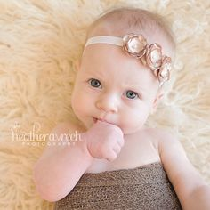 Baby Headbands Feathers
