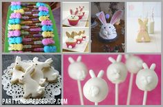 bunny party food and drink ideas
