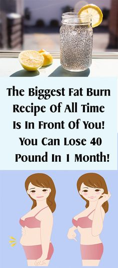 The Biggest Fat Burn Recipe Of All Time Is In Front Of You! You Can Lose 40 Pound In 1 Month! – Healths World
