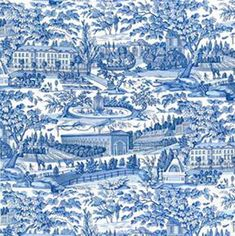 BRUNSCHWIG & FILS | Brunschwig & Fils toile fabrics available through J Banks Design