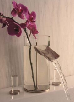 How Pretty Is This Glass Bathroom Tap?