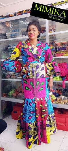 African Style, African Fashion, African Attire, Ankara, Skirt Set, Sari, Dresses With Sleeves, Couture, Chic