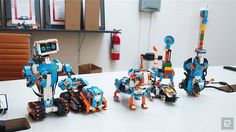 New Lego Boost Robotics System! http://www.flickr.com/photos/ryanthescooterguy/31718225250/