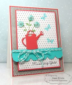 May SOTM Missing You Card by Joan Ervin #Cardmaking, #StampoftheMonth, http://tayloredexpressions.com/kits.html