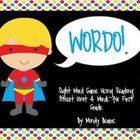 This is a Wordo game that is Superhero themed. Reading Street Unit 4 for First Grade contains 35 words and all words are present on the game sheets...