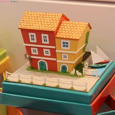 [Miniatuart] Miniatuart Mini : Small port town (Assemble kit) (Model Train) Other picture2