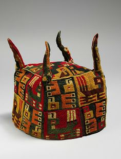 Four-Cornered Hat, 5th-9th century. Wari culture Peru