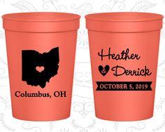 Ohio Wedding Cups, Ohio Stadium Cups, Ohio Plastic Cups, Ohio Cups, Ohio Party Cups (134)