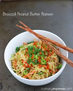 This recipe for broccoli peanut butter ramen is filled with creamy goodness and…