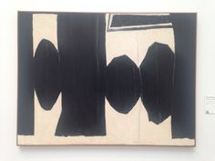 Robert Motherwell Artist Painting De Young Museum Modern Art Collection San Francisco