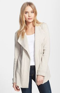 Stem Drape Collar Jacket available at #Nordstrom