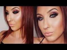Ombre Sunset Smokey Eye Makeup Tutorial | Jaclyn Hill