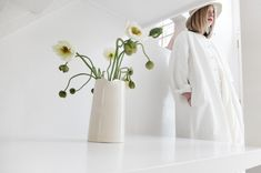 Egg is an independent boutique brainchild of Maureen Doherty located in West London. West London, Paradox, All White, Gems, Boutique, Womens Fashion, March, Display, Beautiful