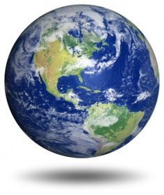 Our beautiful planet.  I'm striving to make choices that keep the Earth and me healthy.