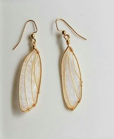 Kind of weird cause they look like bug wings. - - Kind of weird cause they look like bug wings… But still pretty! Accessories Kind of weird cause they look like bug wings… But still pretty! Cute Jewelry, Jewelry Box, Jewelry Accessories, Fashion Accessories, Jewelry Design, Jewelry Making, Jewlery, Silver Jewelry, Trendy Accessories