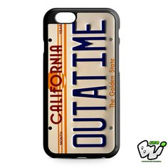 Outa Time Plate iPhone 6 Case   iPhone 6S Case