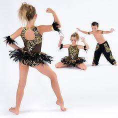 Ballet, Contemporary & Lyrical Dance Costumes : Jungle Rhythm
