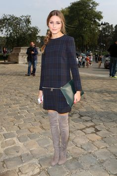How to Style Over-the-Knee Boots - What to Wear: With Over-the-Knee Boots - StyleBistro