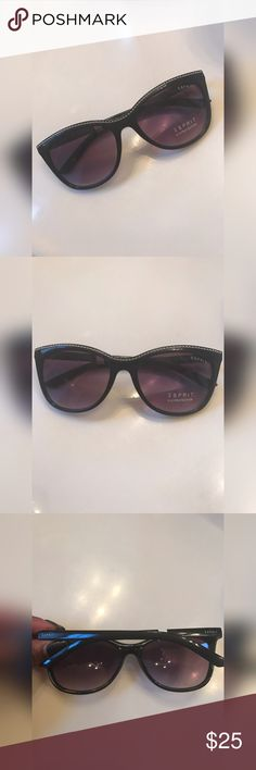 Esprit Sunglasses with Silver Beading Detail Perfect every day sunglasses with silver beading across the top and gradient lenses. Esprit Accessories Sunglasses