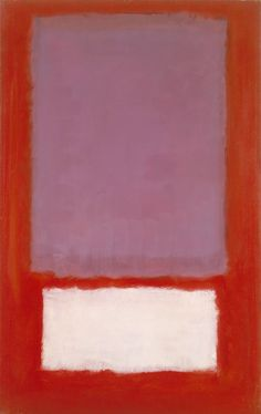 Mark Rothko, No. 5, 1958. Oil and acrylic on canvas, 66 x 41 3/8 in.