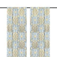 Aqua Cambria Curtain Panel Set, 84 in.