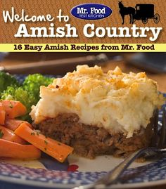 Oooh, I love Amish folks!  Free e-Cookbook: 16 Easy Amish Recipes