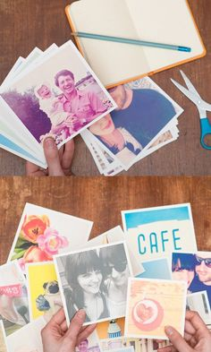 Diy Crafts Ideas : These cool square prints can be made with photos from your Instagram camera-rol