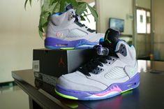 premium selection 3a153 94620 AAA Nike Air Jordan V Men Shoes in Light Grey Purple, cheap Jordan If you  want to look AAA Nike Air Jordan V Men Shoes in Light Grey Purple, ...