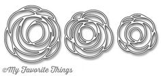 My Favorite Things - LJD SCRIBBLE ROSES OVERLAY - Die-Namics Dies – Hallmark Scrapbook