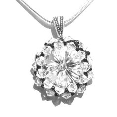 'Classic Elegance Swarovski Crystal Necklace' is going up for auction at 6pm Fri, Sep 21 with a starting bid of $20.