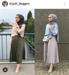 Style Casual Hijab Rok 33 Ideas For 2019 Hijab Casual, Hijab Chic, Muslim Fashion, Modest Fashion, Skirt Fashion, Fashion Outfits, Modest Wear, Modest Dresses, Modest Outfits