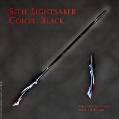 Lightsaber Colors, Sith Lightsaber, Lightsaber Design, Custom Lightsaber, Rpg Star Wars, Star Wars Fan Art, Star Wars Clone Wars, Star Trek, Sabre Laser